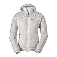 Куртка Eddie Bauer Womens MicroTherm StormDown Hooded Jacket XS Серая 0927SV-XS, КОД: 259856