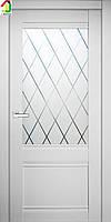 Двери межкомнатные CHe6 Софт тач айс сатин,лазерная гравировка, дверь для квартиры, для дома, дверь в офис.