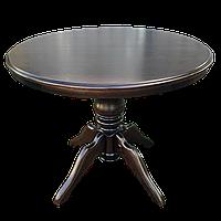 Стол обеденный Клевер Мебель 1000х760х1000 мм Венге hubMvaB62695, КОД: 1786970