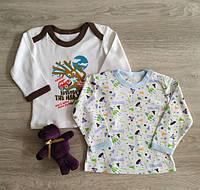 Реглан кофта для новорожденных Дерево Ракеты Польша Для немовлят, фото 1