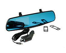 Зеркало-видеорегистратор Vehicle Blackbox DVR Full HD Черный 2368, КОД: 1155420