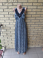 Сарафан шифоновый длинный, в пол, большого размера WHOLE FORKS, Турция