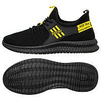 Чоловічі кросівки Sling 45 Black-Yellow 50645, КОД: 1781226
