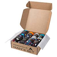 Подарочный комплект цветных носков MANs SET Socks Color 8 пар 41-45 Разноцветный KS12141-45, КОД: 1722741