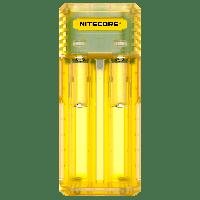 Зарядное устройство для аккумуляторов Nitecore Q2 Yellow 6-1278, КОД: 1493728