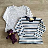 Реглан кофта для новорожденных Песики Полоса Польша Одяг для немовлят, фото 1