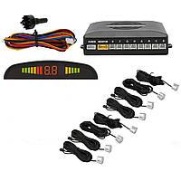 Парковочная система Parking Sensor System R1355 c LED дисплеем 8 датчиков AS101005328, КОД: 358784