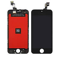 Дисплей для APPLE iPhone 5S с чёрным тачскрином high copy