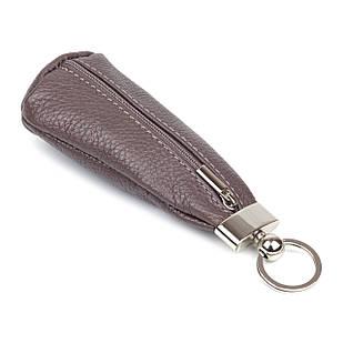Ключница Woman's heel кожаная коричневая (В333-4)