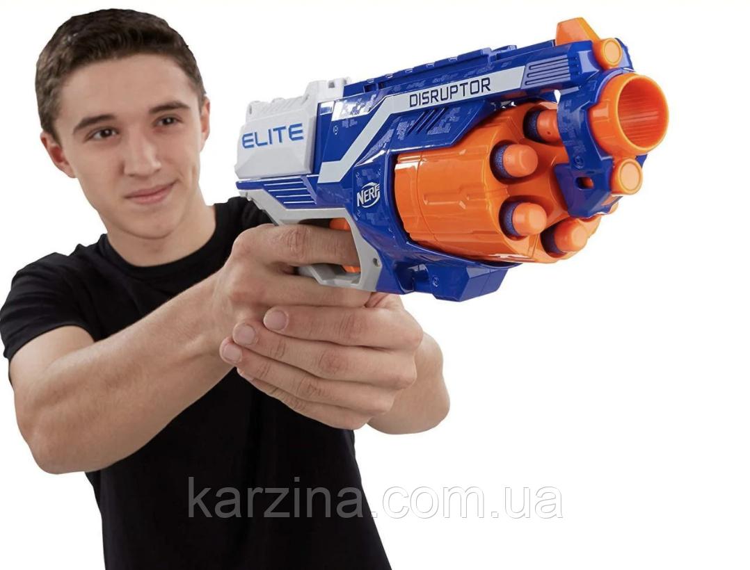 Бластер Нёрф Дизраптер Nerf N-Strike Elite Disruptor