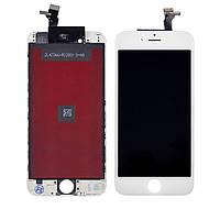 Дисплей для APPLE iPhone 6 с белым тачскрином high copy