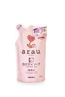Гипоаллергенное мыло-пена для рук  Arau, 500 мл, наполнитель