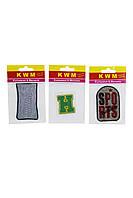Набор аппликаций KWM 3 штук 14х9 см Разноцветный K10-550251, КОД: 1791080
