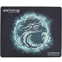 Коврик ESTONE игровой для компьютерной мыши игровая поверхность для геймеров Blue 1472-9250, КОД: 1391448