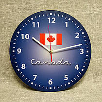 Оригинальные настенные часы Канада