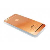 Чехол на iPhone 6/6s силиконовый в виде металик COV-028