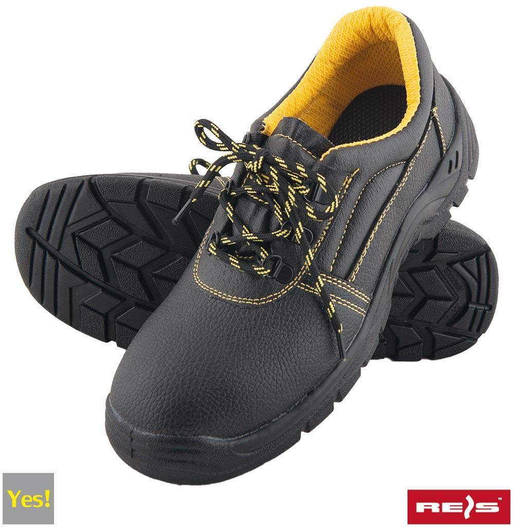 Робочі черевики з металевим підноском REIS (RAW-POL) Польща (спецвзуття) BRYES-P-S3