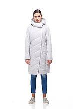 Демисезонная женская куртка ORIGA Камелия 48 Серо-белый, КОД: 1391219