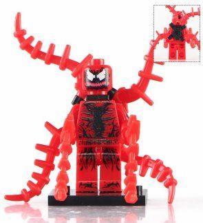 Карнаж Carnage Суперзлодей Марвел Аналог лего