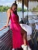 """Сукня """"MOLLI"""", тканина: пряжа бавовна. Розмір:40-42, 44-46, 48-50.Різні кольори (2139), фото 5"""