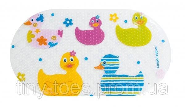 Антиковзаючий килимок для ванної Качечки, Canpol babies