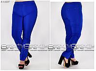 Летние женские брюки для полных женщин Размеры 60\62\64\66
