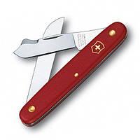 Швейцарский нож Victorinox садовый 100 мм 3 функции Красный 3.9045, КОД: 1671073