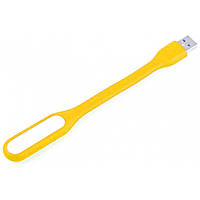 Портативная светодиодная USB led лампа Lesko Light Желтый 1609-9165, КОД: 1151092