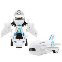 Робот самолет Trend-mix Airbus Deformation Белый с голубым tdx0000733, КОД: 1395804