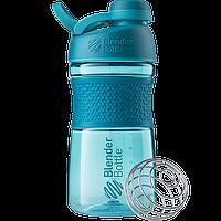 Спортивная бутылка-шейкер BlenderBottle SportMixer Twist 590 ml Teal, КОД: 977689
