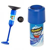 Вантуз Plumber's Hero для прочистки канализационных труб, фото 3