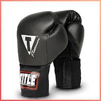 Боксерские тренировочные перчатки TITLE Platinum TB-2102