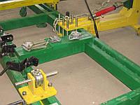 Рихтовочный стапель для восстановления геометрии автомобильных кузовов с двумя тяговыми башнями АВТОРОБОТ