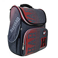 Рюкзак шкільний каркасний YES H-11 Harvard Сірий 556159, КОД: 1247928