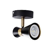 Светильник MILENO EL-1O Kanlux, черный/золото