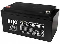Аккумуляторная батарея Kijo JS 12V 65Ah AGM, 65 Ач 12 В