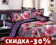 Семейный набор хлопкового постельного белья из Ранфорса №354