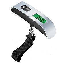 Весы электронные Lesko PT-106 Silver для багажа 50 кг 3642-10409, КОД: 1717402