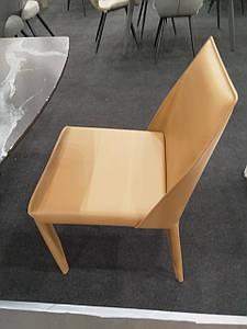 Обеденный стул MARCO (Марко) светло-коричневая кожа от Concepto