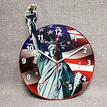Настенные часы Америка. Статуя свободы