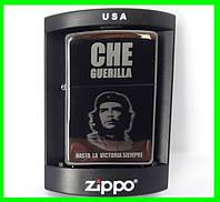 Зажигалка ZIPPO Бензиновая (Che Guevara), фото 1