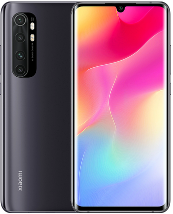 Смартфон Xiaomi Mi Note 10 Lite 6/128GB Midnight Black UA, фото 2