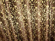 Комплект готовых жаккардовых штор .  Цвет коричневый Код 510ш (1,4*2,7) 39-047, фото 2