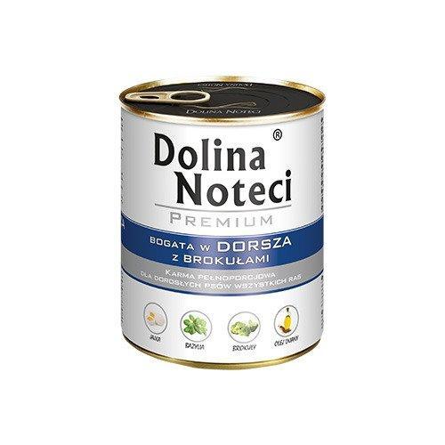 Консерви DN Premium 800 г з тріскою та броколі для собак Dolina Noteci