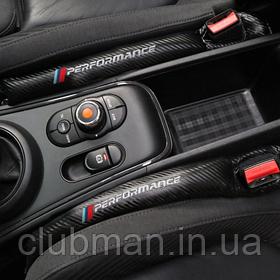 Вставка уплотнитель BMW M Performance бмв м между сиденьями