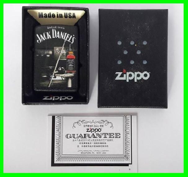 Зажигалка ZIPPO Бензиновая (Jack Daniels) - 02