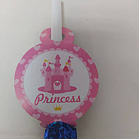 Гудок принт princess