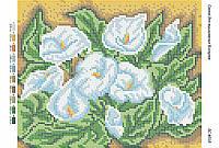Схема для вышивания бисером ''Каллы'' А4 29x21см
