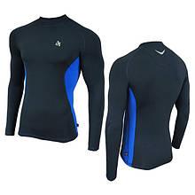 Компрессионная спортивная кофта Radical Fury Duo LS Синий с голубым M, КОД: 152712