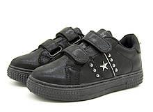 Кроссовки Ok shoes 33 Черный 470-1 black-33 22 см, КОД: 1392501